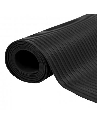 Guminis neslystantis grindų kilimėlis su briaunelėmis, 5 x 1 m | Grindys ir Kilimai | duodu.lt