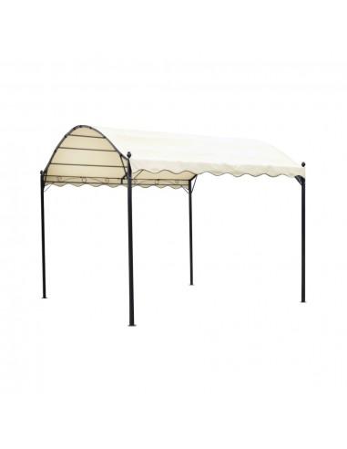 Pavėsinė su medžiaginiu stogu, kreminė balta | Tentai ir Pavėsinės | duodu.lt
