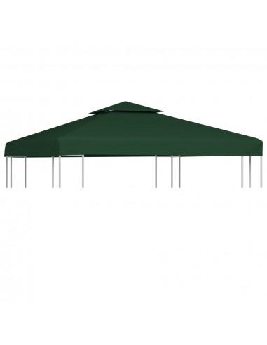 Pakait. pavėsinės uždangalas, 310g/m², žalios sp., 3x3m | Tentų ir Pavėsinių Stogeliai | duodu.lt