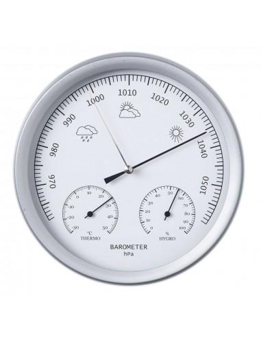 Nature 3-1 Barometras su termometru ir higrometru, 20cm, 6080081  | Meteorologijos prietaisai | duodu.lt