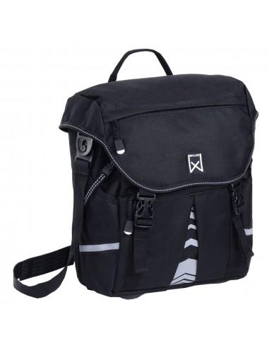 Willex Dviračio krepšys S 1200, juodos spalvos, 10L   Dviračių krepšiai ir pintinės   duodu.lt