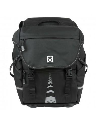 Willex Dviračio krepšiai 1200, juodos spalvos, 28L | Dviračių krepšiai ir pintinės | duodu.lt