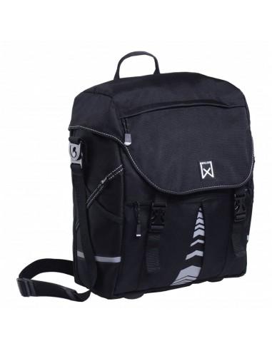 Willex Dviračio krepšys XL 1200, juodos spalvos, 25 L | Dviračių krepšiai ir pintinės | duodu.lt