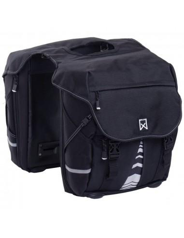 Willex Dviračio krepšiai XL 1200, juodos spalvos, 50l, 13611 | Dviračių krepšiai ir pintinės | duodu.lt