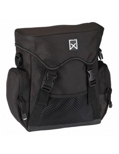 Willex Dviračio krepšys XL, juodos spalvos, 17 L   Dviračių krepšiai ir pintinės   duodu.lt