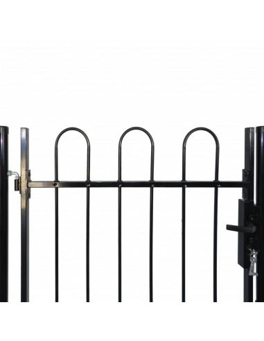 Dvigubi tvoros vartai su iečių viršugal. 300 x 175 cm | Vartai | duodu.lt