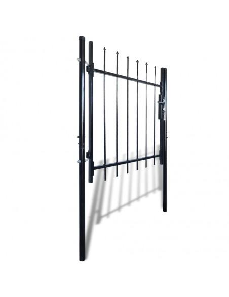 Dvigubi tvoros vartai su iečių viršugal. 300 x 248 cm   Vartai   duodu.lt