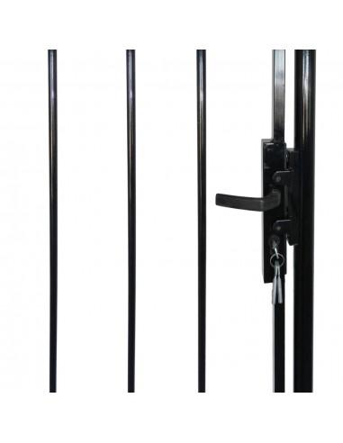 Dvivėriai Kiemo Vartai su Smaigaliais 400 x 248 cm | Vartai | duodu.lt