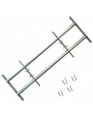 Reguliuojamos Apsauginės Langų Grotos su 2 Skersiniais 500-650 mm   Langai   duodu.lt