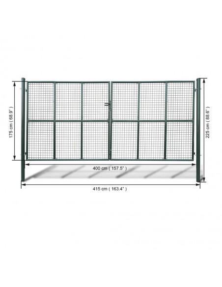 Reguliuojamos Apsauginės Langų Grotos su 3 Skersiniais 500-650 mm | Langai | duodu.lt