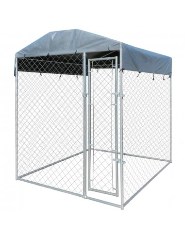 Lauko šuns voljeras su tentu 2x2 m   | Būdos ir voljerai šunims | duodu.lt