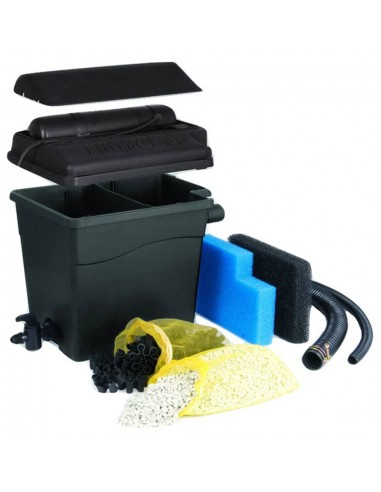 Ubbink Tvenkinio filtro komplektas FiltraClear 4500 BasicSet, 1355160 | Fontanų ir Tvenkinių Aksesuarai | duodu.lt