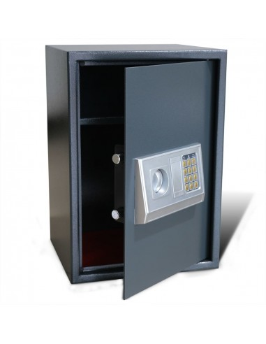 Elektroninis Skaitmeninis Seifas su Lentyna 35 x 31 x 50 cm   Seifai   duodu.lt