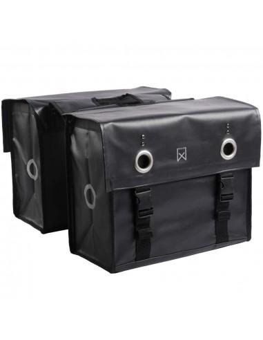 Willex Krepšys laikraščiams, matinės juodos spalvos, 52l, 10940   Dviračių krepšiai ir pintinės   duodu.lt