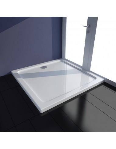 Stačiakampis ABS Dušo Padėklas, Baltas 70 x 100 cm   Dušo padėklai   duodu.lt