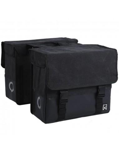 Willex Krepšys laikraščiams, juodas/matinis juodas, drobė, 57l, 15336 | Dviračių krepšiai ir pintinės | duodu.lt