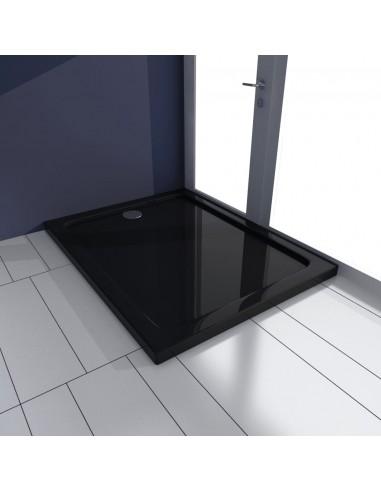 Stačiakampis ABS Dušo Padėklas, Juodas 70 x 90 cm | Dušo padėklai | duodu.lt
