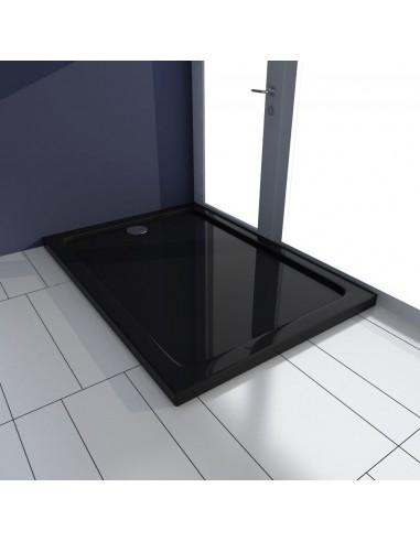 Stačiakampis ABS Dušo Padėklas, Juodas 70 x 100 cm | Dušo padėklai | duodu.lt