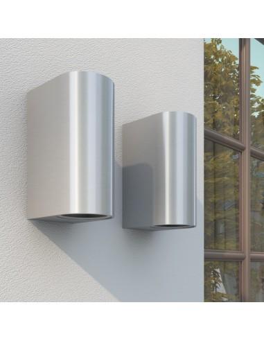 Sieniniai lauko šviestuvai, šviesa į viršų ir apačią, 2 vnt.   Lauko apšvietimas   duodu.lt