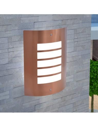 sieninis lauko šviestuvas, nerūdijančio plieno, vario spalvos    Lauko apšvietimas   duodu.lt