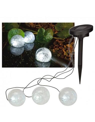 HI Saulės energija įkraunama tvenkinio LED girlianda, 9cm   Fontanų ir Tvenkinių Aksesuarai   duodu.lt