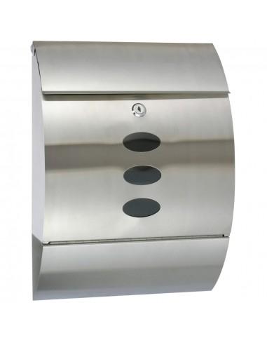 HI Pašto dėžutė, 30x12x40cm, nerūdijantis plienas   Pašto dėžutės   duodu.lt