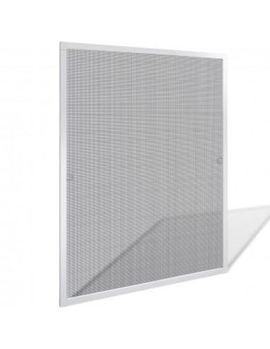 Apsauginis Tinklelis nuo Vabzdžių su Rėmu, 80 x 100 cm, Baltas   Langų Tinkleliai   duodu.lt