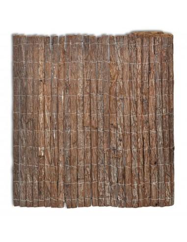 Tvora iš Medžio Žievės 400 x 100 cm   Tvoros Segmentai   duodu.lt