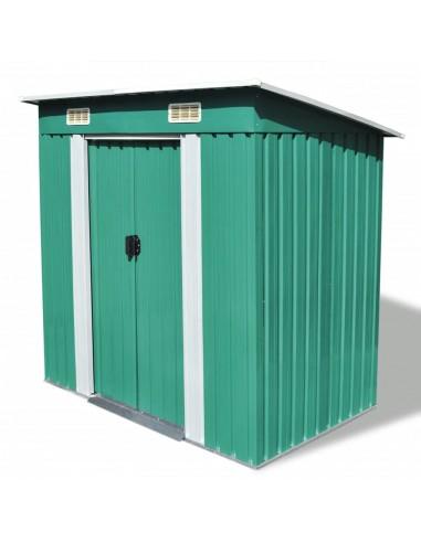 Sodo sandėliukas, žalias, metalinis | Stoginės, garažai ir pastogės | duodu.lt