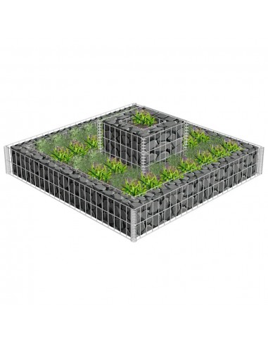 2 Aukštų Gabionas Gėlynui | Sodininkystė | duodu.lt