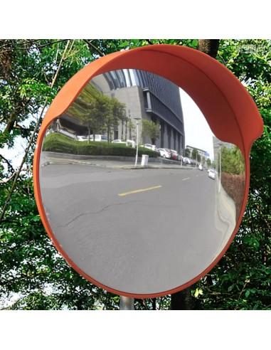 Sferinis Kelio Veidrodis 45 cm, PC Plastikas, Lauko, Oranžinis   Kelio ženklai   duodu.lt