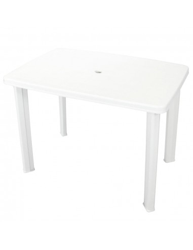 Sodo stalas, 101x68x72 cm, plastikas, baltas | Lauko Staliukai | duodu.lt