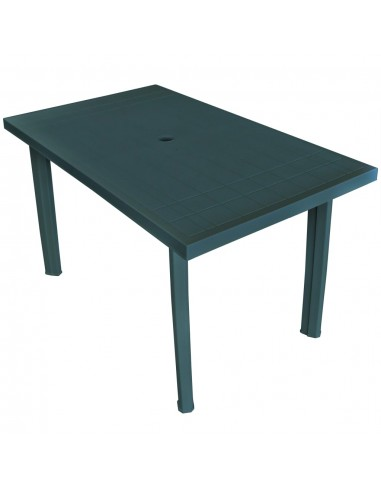 Sodo stalas, 126x76x72cm, plastikas, baltas | Lauko Staliukai | duodu.lt