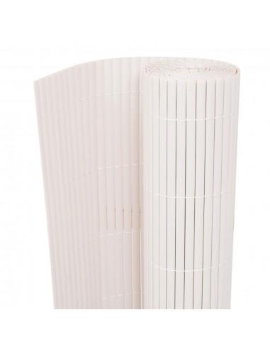 Dvipusė sodo tvora, 90x500cm, baltos spalvos   Tvoros Segmentai   duodu.lt