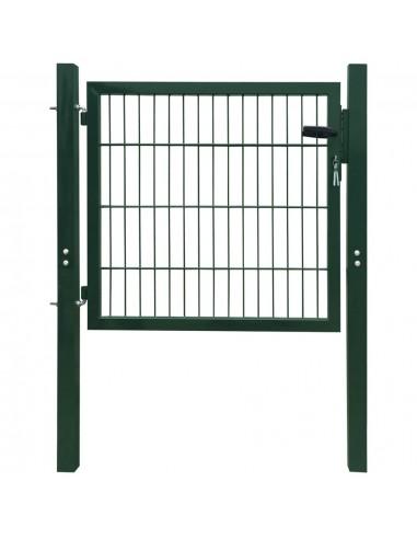 2D Kiemo Vartai (Vienvėriai), Žali, 106 x 130 cm | Vartai | duodu.lt