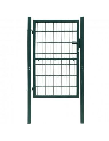 2D Kiemo Vartai (Vienvėriai), Žali, 106 x 230 cm | Vartai | duodu.lt
