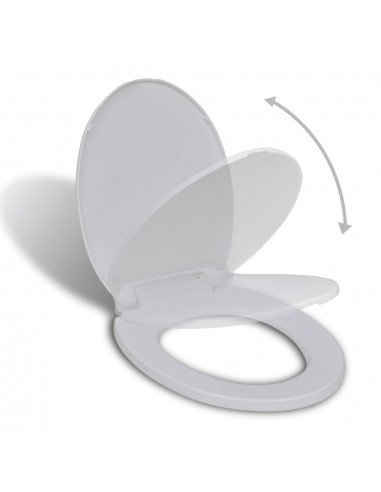 Klozeto sėdynė su Soft Close mechanizmu, ovali | Klozetų ir Bidė Sėdynės | duodu.lt