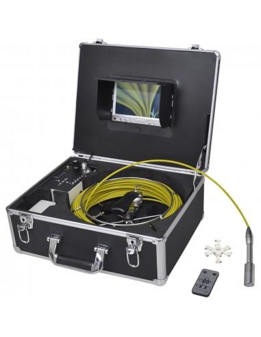 Vamzdžių tikrinimo kamera, 30 m, su vaizdo įrašymo funkcija | Topografija | duodu.lt