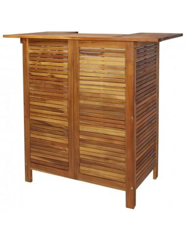 Baro stalas, akacijos medienos masyvas, 110x50x105cm | Lauko Staliukai | duodu.lt