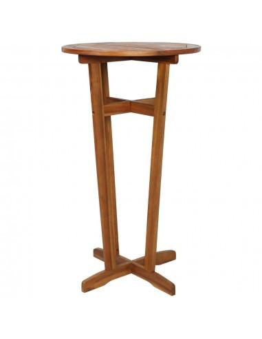 Baro stalas, akacijos medienos masyvas, 60x105cm | Lauko Staliukai | duodu.lt