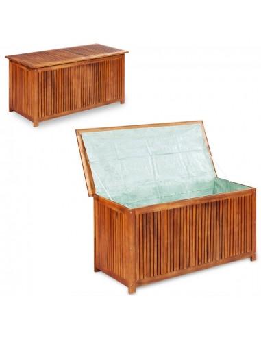 Lauko daiktadėžė, akacijos medienos masyvas, 150x50x58cm   Lauko daiktadėžės   duodu.lt