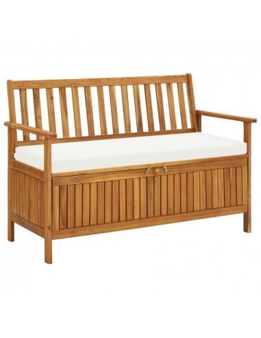 Suoliukas-daiktadėžė, akacijos mediena, 120x63x84cm | Sandėlio ir Prieangio Suolai | duodu.lt