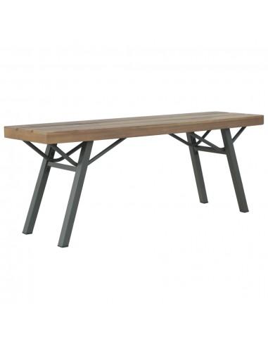Sodo suoliukas, akacijos medienos masyvas, 120x31x45cm | Lauko Suolai | duodu.lt