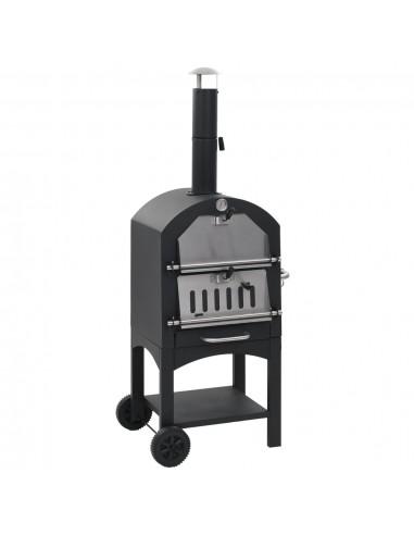 Lauko anglies krosnis picai su židinio akmeniu ir liže picai | Picos Gaminimo Įranga ir Orkaitės | duodu.lt