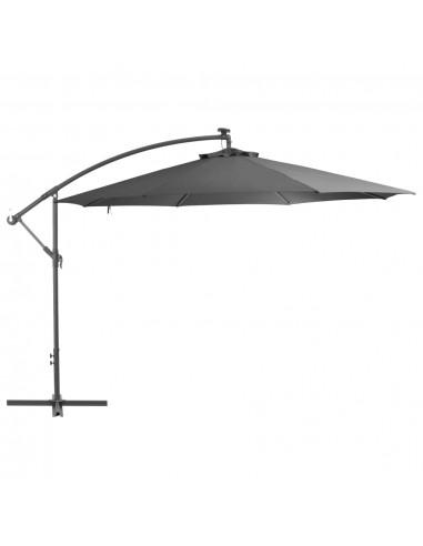 Gembės form. saulės skėtis su alium. stulp., 350 cm, antr. sp. | Lauko Skėčiai Ir Tentai | duodu.lt