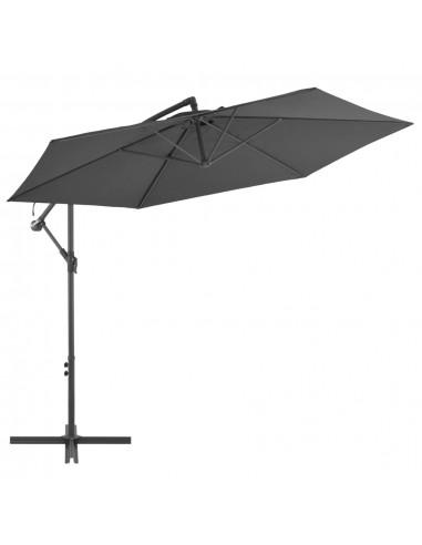 Gembės form. saulės skėtis su alium. stulp., 300 cm, antr. sp. | Lauko Skėčiai Ir Tentai | duodu.lt