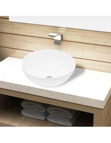 Keramikinis Vonios Praustuvas, Apvalus, Baltas | Vonios praustuvai | duodu.lt
