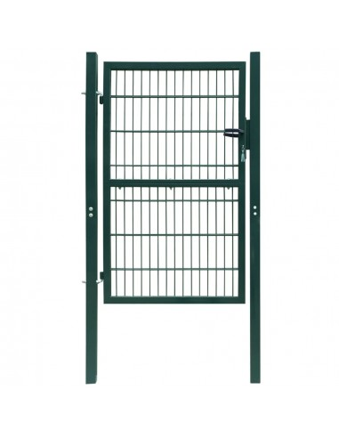 Vartai, plieniniai, 106x250 cm, žali | Vartai | duodu.lt