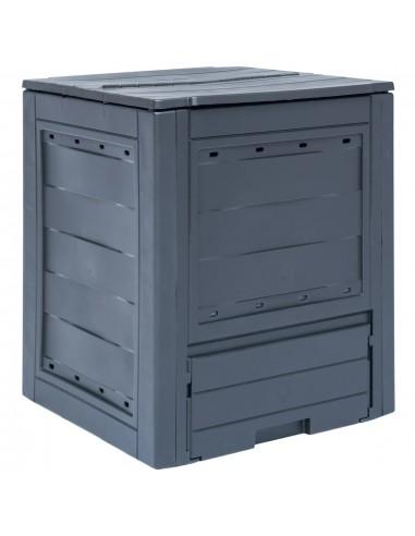 Sodo komposto dėžė, pilka, 60x60x73cm, 260l | Komposteriai | duodu.lt