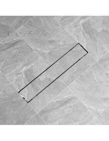pailgas dušo latakas, nerūdijančio plieno, 630x140 mm | Sifonai | duodu.lt